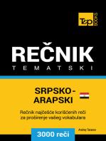 Srpsko-Egipatski Arapski tematski rečnik