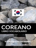 Libro Vocabolario Coreano