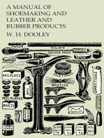 A Manual of Shoemaking and Leather and Rubber Products