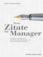Neue Zitate für Manager