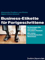 Business-Etikette für Fortgeschrittene