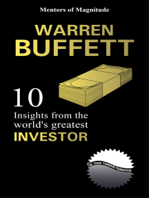 Warren Buffett: 10 Insights From The World's Greatest Investor