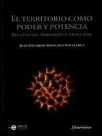 El territorio como poder y potencia: Relatos del piedemonte araucano