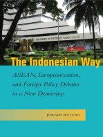 The Indonesian Way: ASEAN, Europeanization, and Foreign Policy Debates in a New Democracy