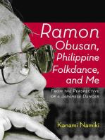 Ramon Obusan, Philippine Folkdance and Me