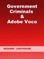 Government Criminals & Adobe Voco