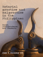 Notarial Practice & Malpractice in the Philippines