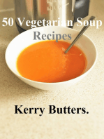 50 Vegetarian Soup Recipes.