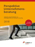 Perspektive Unternehmensberatung 2018