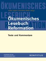 Ökumenisches Lesebuch Reformation