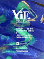 VIE Festival 14 - 22 october 2017: Modena Bologna Carpi Vignola