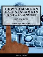 Extra Income Ideas for The Gig Economy