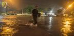 Biloxi Faces Flooding As Nate Makes Second Landfall On Gulf Coast