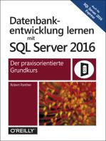 Datenbankentwicklung lernen mit SQL Server 2016