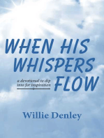 When His Whispers Flow