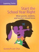 Start the School Year Right