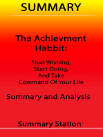 Summary The Achievement Habit
