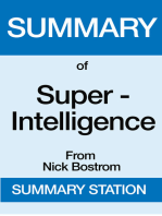Summary of Super-Intelligence From Nick Bostrom
