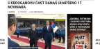 Comical Unintended Consequences of Turkish President Erdogan's State Visit to Serbia