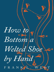 How to Bottom a Welted Shoe By Hand