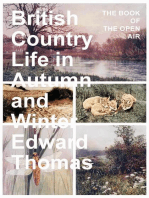 British Country Life in Autumn and Winter - The Book of the Open Air