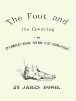 """The Foot and its Covering with Dr. Campers Work """"On the Best Form of Shoe"""""""