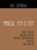Eminescu, poem cu poem. Venere și Madona, Rugăciunea unui dac, Cugetările sărmanului Dionis, Melancolie, Floare albastră