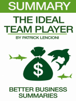 Summary The Ideal Team Player By Patrick Lencioni