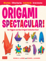 Origami Spectacular! Ebook: Origami Book, 154 Printable Papers, 60 Projects