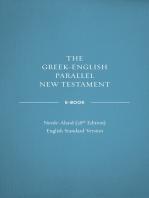 Greek-English Parallel New Testament ebook