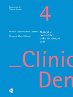 Manejo y control del dolor en cirugía oral
