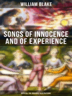 Songs of Innocence and of Experience (With All the Originial Illustrations): Showing the Two Contrary States of the Human Soul