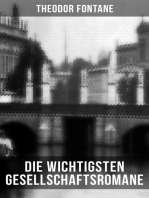 Die wichtigsten Gesellschaftsromane von Theodor Fontane