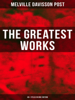 The Greatest Works of Melville Davisson Post