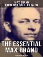 The Essential Max Brand - 29 Westerns in One Edition