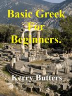 Basic Greek For Beginners.