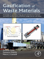 Gasification of Waste Materials: Technologies for Generating Energy, Gas, and Chemicals from Municipal Solid Waste, Biomass, Nonrecycled Plastics, Sludges, and Wet Solid Wastes