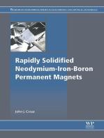 Rapidly Solidified Neodymium-Iron-Boron Permanent Magnets