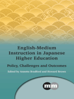 English-Medium Instruction in Japanese Higher Education: Policy, Challenges and Outcomes