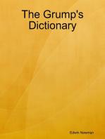 The Grump's Dictionary