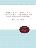 Antitrust and the Triumph of Economics: Institutions, Expertise, and Policy Change