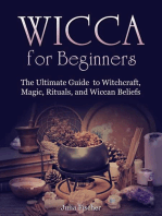 Wicca for Beginners:The Ultimate Guide to Witchcraft, Magic, Rituals, and Wiccan Beliefs