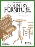 American Country Furniture: Projects From the Workshops of David T. Smith (American Woodworker)