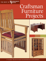 Craftsman Furniture Projects (Best of WWJ)