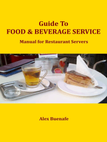 Guide to Food & Beverage Service