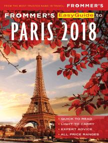 Frommer's EasyGuide to Paris 2018