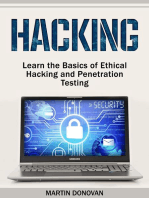 Hacking: Learn the Basics of Ethical Hacking and Penetration Testing