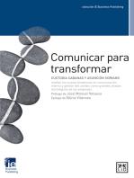 Comunicar para transfromar: Custodia Cabanas Y Asunción Soriano revelan las nuevas tendencias en comunicación interna y gestión del cambio como grandes aliadas estratégicas de las empresas.