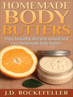 Homemade Body Butters