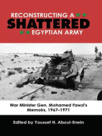 Reconstructing a Shattered Egyptian Army (1967 to 1971)